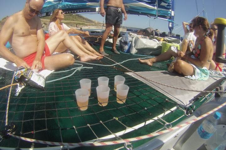 apéro en catamaran Cavalaire La croix Valmer