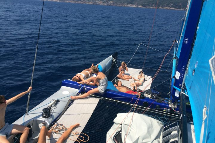 balade en mer catamaran cavalaire Saint Tropez