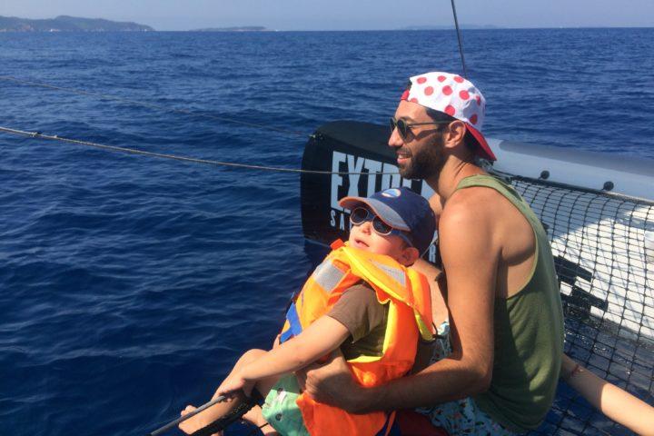 balade en catamaran à Cavalaire Le lavandou Hyères La londe-les-Maures