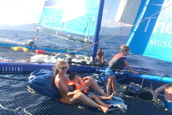 balade en mer Cavalaire Port-Cros Porquerolles cote d'azur Saint Tropez catamaran