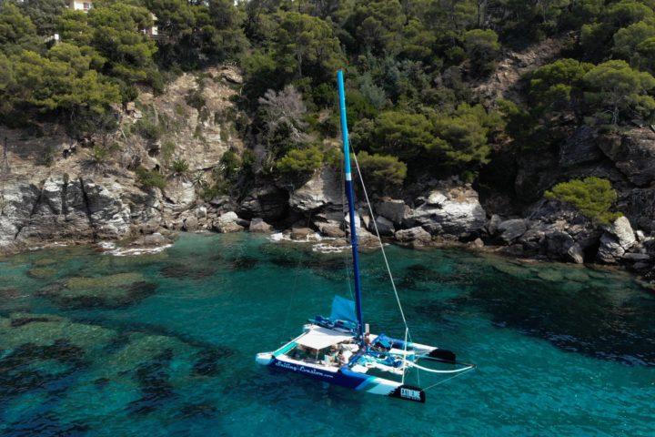 catamaran Port-Cros Le rayol Cavalaire Porquerolles Hyères