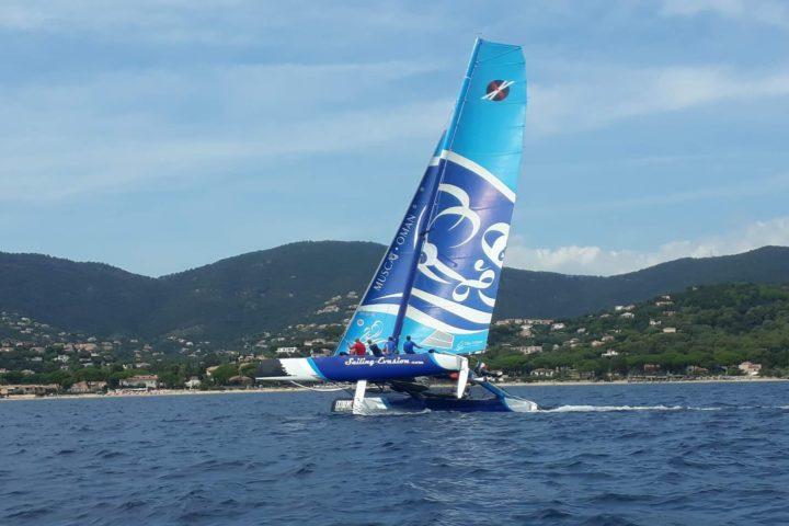catamaran de sport sensations initiation voile extreme 40